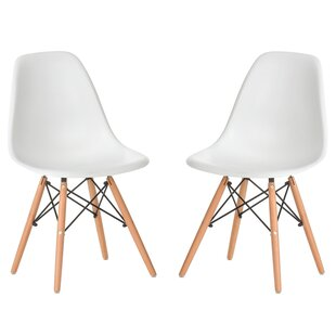 Verrill Mid Century Modern Retro Dining Chair (Set of 2)