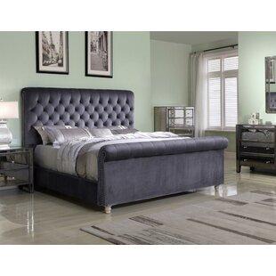 Johana Upholstered Panel Bed by Rosdorf Park 2019 Sale