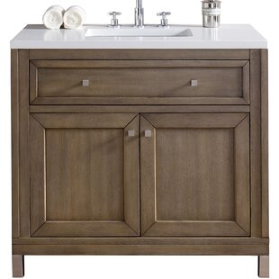 Chicago 36 Single Bathroom Vanity Base by James Martin Furniture