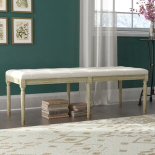 Wicks French Upholstered Bench by Ophelia & Co.