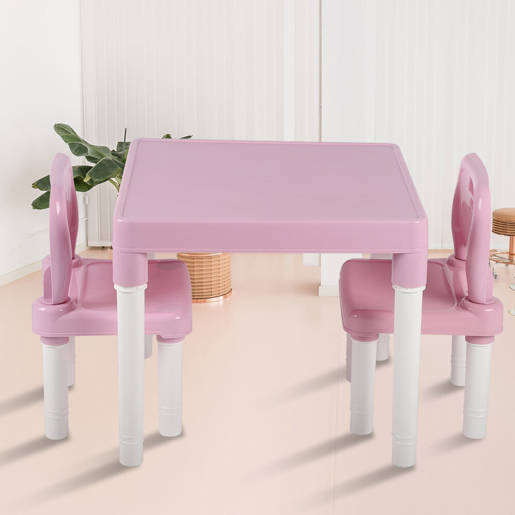 Isabelle & Max™ Chand 3 Piece Kids Play Table and Chair Set For