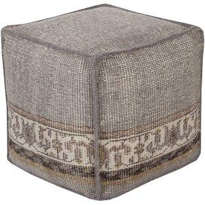 Gina Cube Pouf Ottoman by Mistana