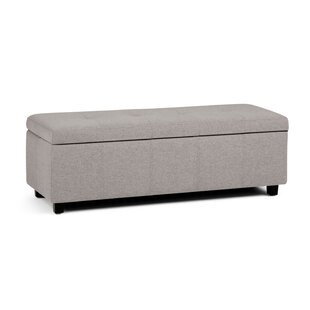 Charlton Home Burkeville Large Storage Bench