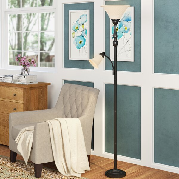 Payson 71 Torchiere Floor Lamp by Alcott Hill®