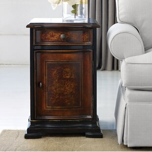 Hooker Furniture Grandover End Table with Storage