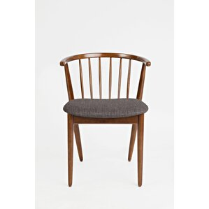 Holzman Solid Wood Dining Chair (Set of 2) by Union Rustic