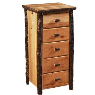 Hickory 5 Drawer Lingerie Chest by Fireside Lodge Spacial Price