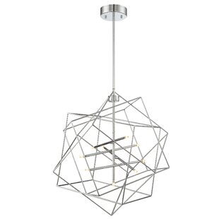 Cohutta 9-Light Geometric Chandelier by Zipcode Design