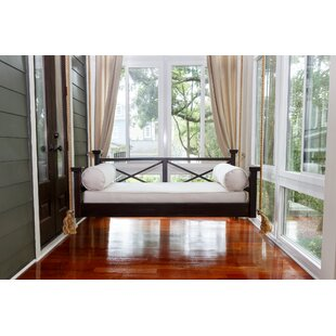 The Historic Hilton Head Porch Swing Bed by Custom Carolina Hanging Beds