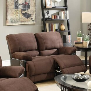 Shop Paras Reclining Loveseat by Winston Porter