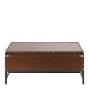 Aztec Coffee Table With Storage By Bloomsbury Market
