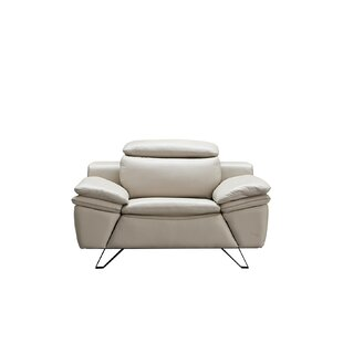 Ebenezer 3 Piece Leather Living Room Set by Orren Ellis