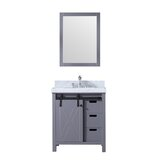 Marsyas 30 Single Bathroom Vanity Set with Mirror by Lexora