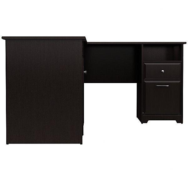 White Executive Desk With Drawers red barrel studio toledo l-shaped executive desk & reviews | wayfair