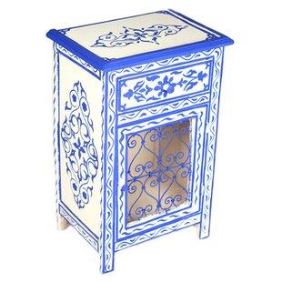 Best Price Andrea 1 Drawer Nightstand by Casablanca Market