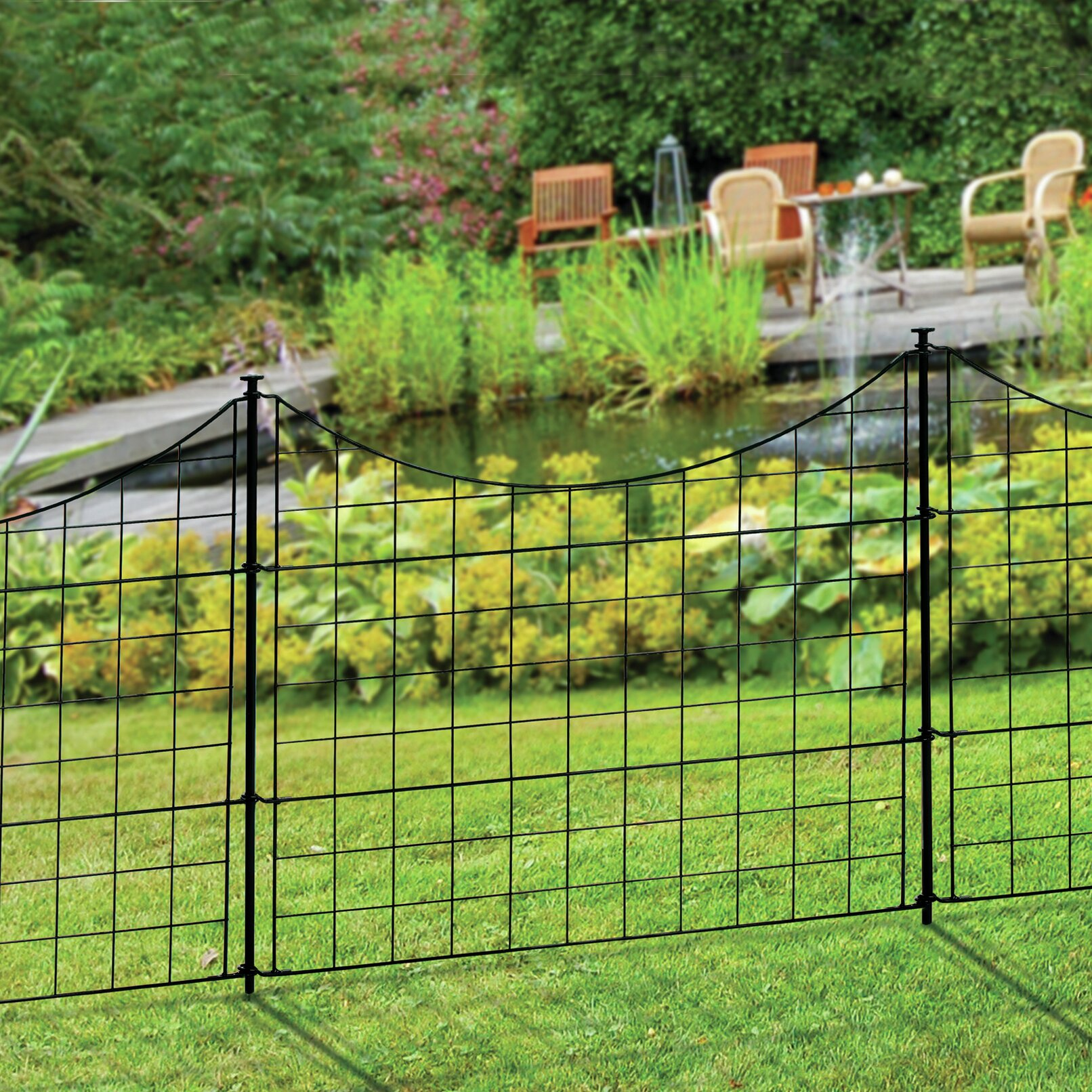 2 5 Ft W Zippity Garden Fence