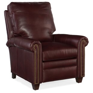 Raylen Leather Manual Recliner by Bradington-Young Purchase