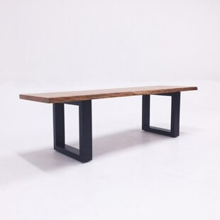 Zimmer Wood Bench by Union Rustic