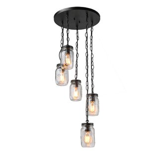 Christopherson 5-Light Cluster pendant by Gracie Oaks