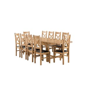 Apollonia Small Extending Dining Set With 10 Chairs By Gracie Oaks