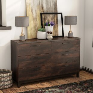 Shrout 6 Drawer Double Dresser