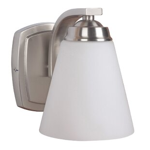 Affordable Metropolis 1-Light Bath Sconce By Mariana Home