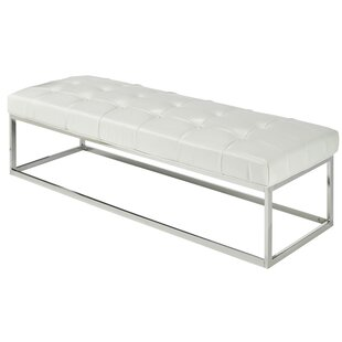 Arely Metal Bench by Wade Logan