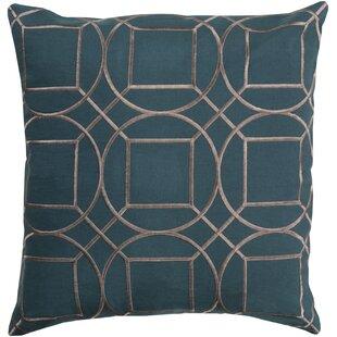 Lambda Square Linen Throw Pillow