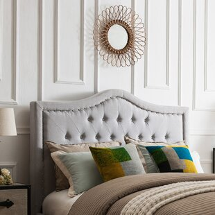 Darby Home Co Sampson Upholstered Panel Headboard