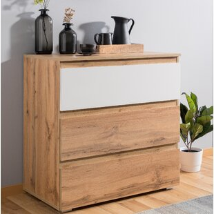 Margaux 3 Drawer Chest Of Drawers By Mercury Row