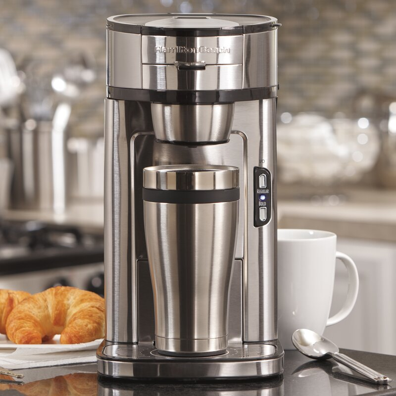 The Scoop Single Serve Coffee Maker