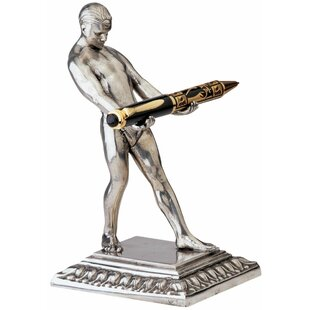 Design Toscano Art Deco Strongman Pen Holder Sculpture