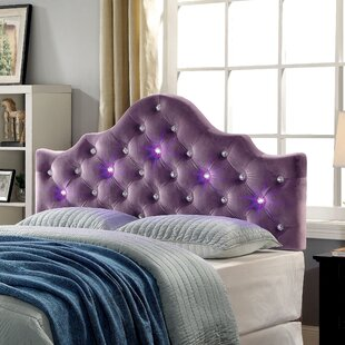 Affordable Price Heffner Contemporary Upholstered Panel Headboard by Brayden Studio