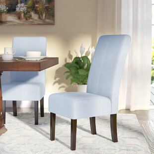 Back East Side Upholstered Dining Chair (Set of 2) By Alcott Hill