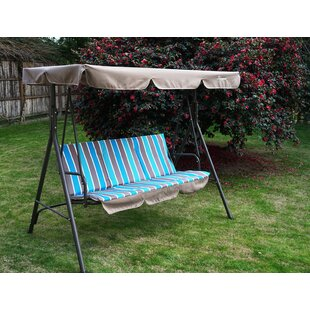 Otterburn Patio Porch Swing with Stand by Winston Porter