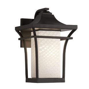 Luzerne Small LED Outdoor Wall Lantern by Brayden Studio