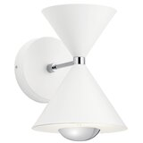 Mcgruder 1 - Light LED Dimmable White Material Armed Sconce