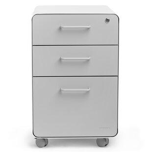 Modern Contemporary Glossy White File Cabinets Allmodern