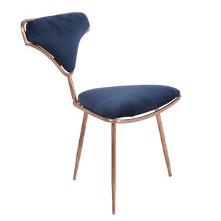 Junious Iron Side Chair by Ivy Bronx