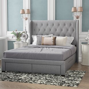 Comparison Mamadou Upholstered Panel Bed by Willa Arlo Interiors Reviews (2019) & Buyer's Guide