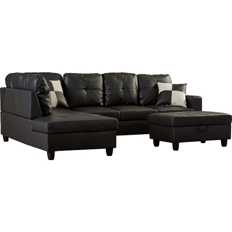 Leather sofa Fur Throw