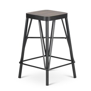 Roman 24'' Bar Stool Williston Forge