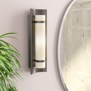 Clarke Down 1-Light Wall Sconce By Wade Logan Wall Lights