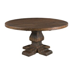 Gracie Oaks Hearon Solid Wood Dining Table