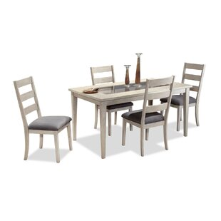Grandfield Solid Wood Dining Table by Highland Dunes Wonderful