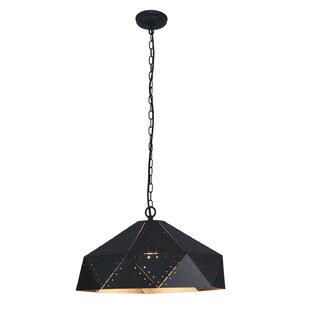 Williston Forge Batesville 1-Light Dome Pendant