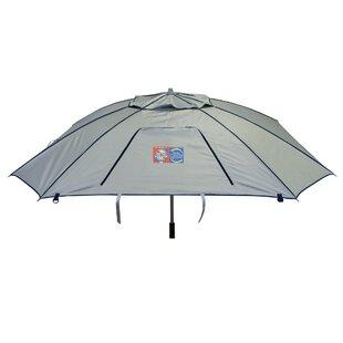 Total Sun Block Extreme Shade 8 ft. Beach Umbrella