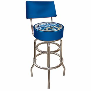 31 Swivel Bar Stool by Trademark Global Modern