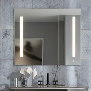 AiO Single Door 36 x 30  Surface Mount Medicine Cabinet with Lighting Robern