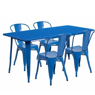Cotter Rectangular 5 Piece Dining Set